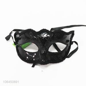 High sales black glitter masquerade mask party mask