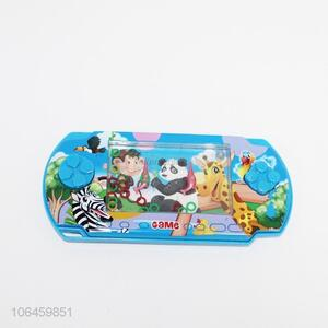 Cartoon Pattern Ring Toss Water Game Machine Toy