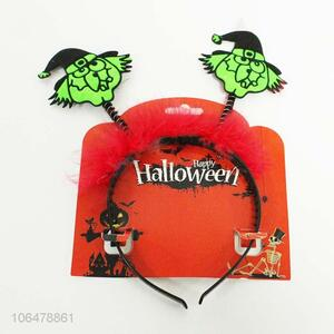 Factory price Halloween decoration witch design headband