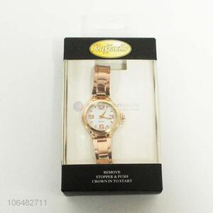 New Popular Stylish Ladies' Rose Gold Watch
