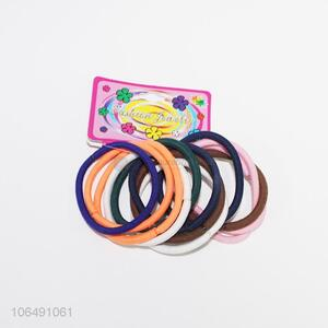High quality colorful women hair ropes hair accessories