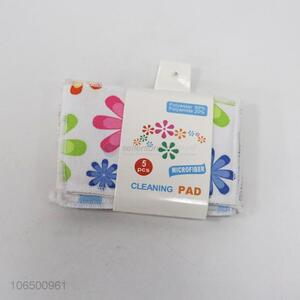 New 5PCS Kitchen Cleaning Scouring Pad Cleaning Cloth
