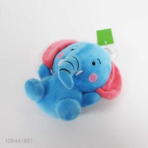 Promotional gift lovely soft cute stuffed plush elephant toy for kids