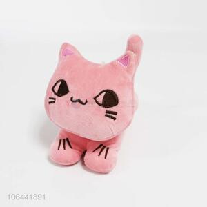 Contracted Design Plush Stuffed Cartoon Animal Cat Shape Toy