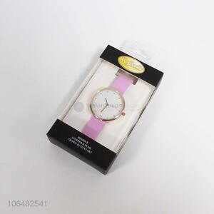 China manufacturer women stylish 38mm metal wrist watch