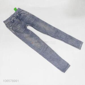Wholesale good quality women imitation jeans leggings