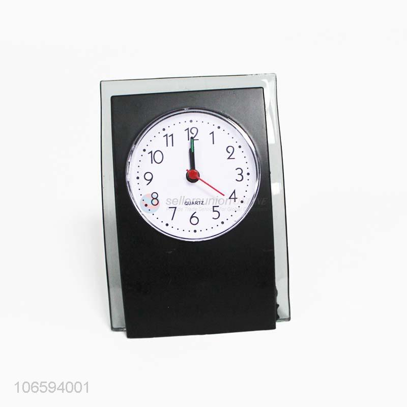 High quality battery operated plastic desktop clocks