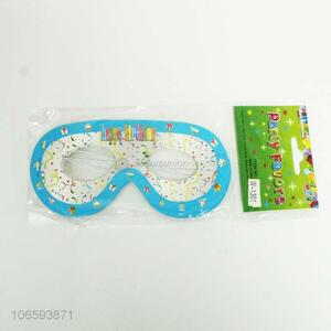 Wholesale custom kids birthday party props paper glasses