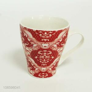 Low price art design exqusite ceramic water cup