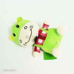 China supplier cute cartoon carf plush toy for kids