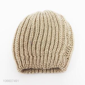Good price unisex acrylic knitting hats adults beanie
