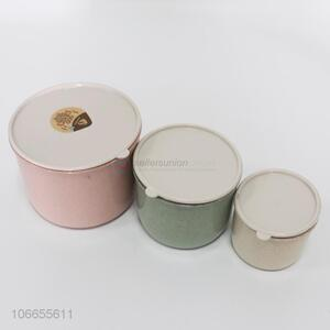 Good Sale 3 Pieces Preservation Box With Lid