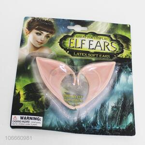 Wholesale Fairy Dress Up Costume Soft Goblin Ear Latex Ears for Halloween Party Supplies