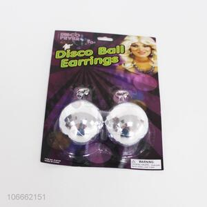 New selling promotion disco ball earrings
