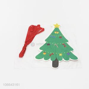 Low price cartoon Christmas tree hanging ornaments