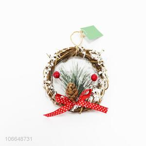 Suitable price Christmas decoration Christmas garland with pinecone
