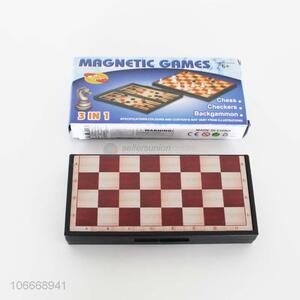 Creative Design 3 In 1 Magnetic Games Chess Toy