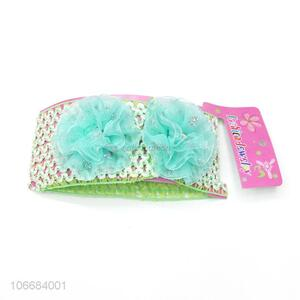 Hottest Baby Hair Accessories Colored Baby Lace Flower Headbands