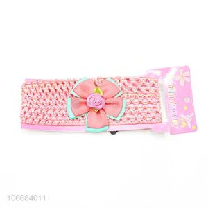 Wholesale Cute Baby Lace Flower Headband Hairband Headwear Toddler Accessories