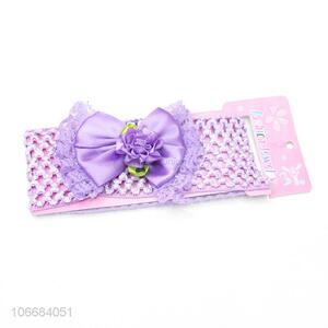 Wholesale Baby Headband New Children Cute Baby Lace Bow Hair Band