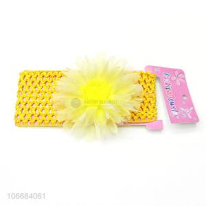 High Quality Cute Lace Flowers Baby Hair Accessories Headbands