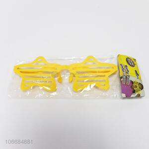Low price party supplies novelty glasses star glasses