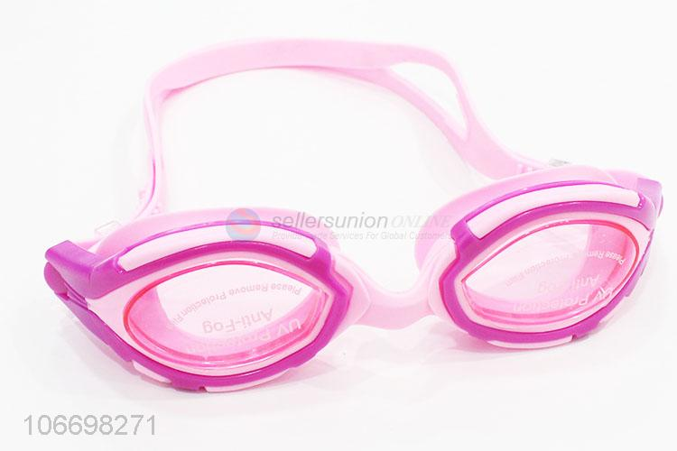 Factory Supply Silicone Swimming Goggles For Adult