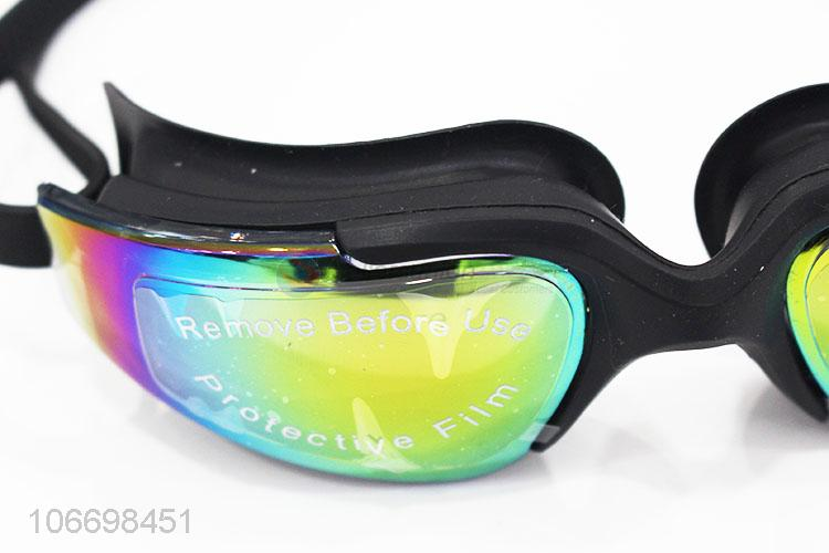 Factory Wholesale Silicone Swimming Goggles For Adult
