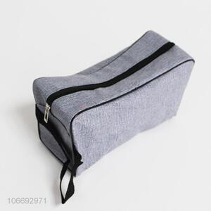 New fashion simple design men travel cosmetic bag