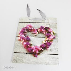 Wholesale Heart Pattern Paper Gift Bag