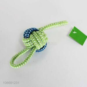 Wholesale Pet Cotton Rope Dog Toy Molars Chewing Toy