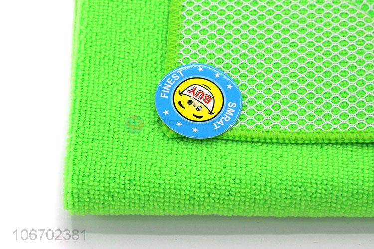 Low price kitchen cleaning cloth microfiber dish towel