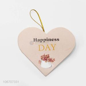 Most popular custom logo heart shape paper greeting card