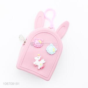 New Style Unicorn Pattern Lovely Shaped Silicone Coin Purse