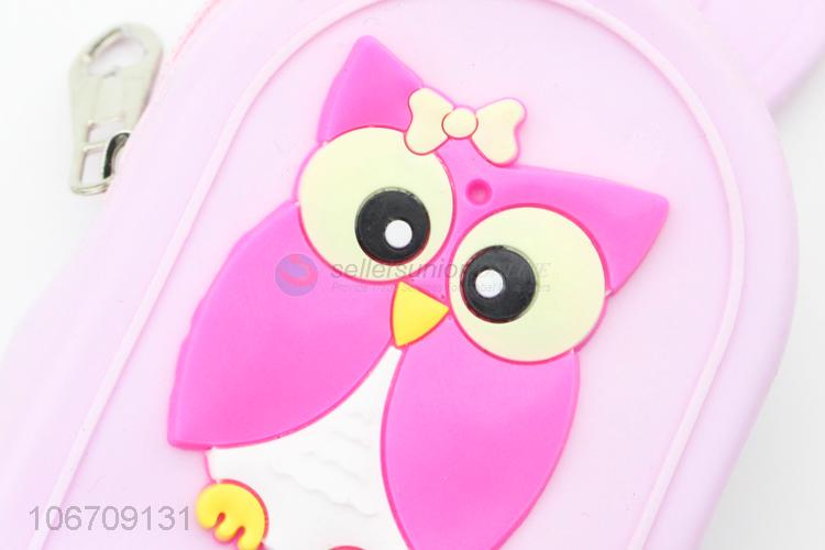 New Fashion Cartoon Backpack Coin Purse Girls Cute Silicone Bag