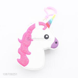 Best Selling Unicorn Cartoon Silicon Jelly Portable Cute Silicon Coin Purse