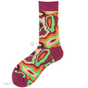 New Design Comfortable Cotton Mid-Calf Length Sock For Men
