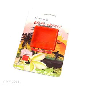Excellent quality scented oil car air freshener tropical