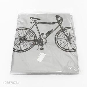 Good quality waterproof bike printed bike cover tandem rain shield