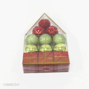 High Quality Plastic Christmas Ball Set for Decoration