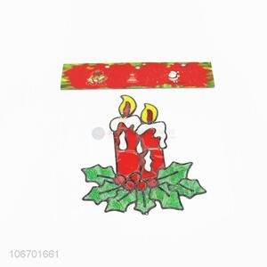 Promotional Xmas decoration pvc window sticker
