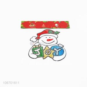 New design Xmas decoration pvc window sticker