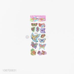 Wholesale Colorful Butterfly Pattern Sticker
