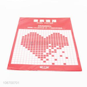 Sweetly Design Pixel Posters Paper Sticker