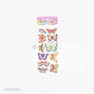 Good Quality Butterfly Pattern Colorful Sticker