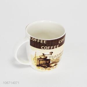 Premium quality custom logo printed ceramic coffee mugs/tea cups