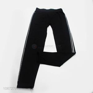 Newly designed fashion letters printed ladies sports pants