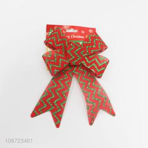 New Design Bowknot Christmas Ornament