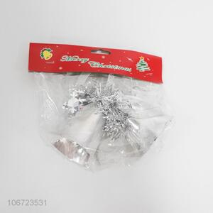 Hot Sale Christmas Bell Plastic Christmas Ornament