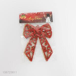 Custom 2 Pieces Bowknot Christmas Decoration